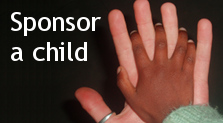 Sponsor a child button